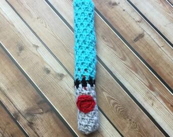 Blue light saber, Crochet Light Saber  toy, Star Wars