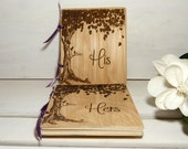 Vow Books, Vow Book, Vows, Wedding Vow Books, Wedding Vow Book, Rustic Wedding, His, Hers, Wedding Vows, Vow Book Ideas, Wedding Vows, Chic