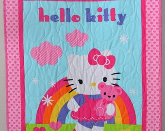 Hello Kitty Baby Girl Quilt