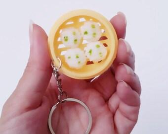 Chinese Dim Sum Keychain