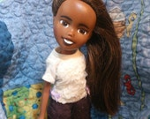 The Saturday Doll, Drollerie Doll, bratz repaint + makeunder