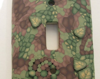 Polymer Clay Light Switchplate Set (2)