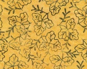 Timeless Tonga Batiks Punch Pollen Leaflet - by the Half Yard
