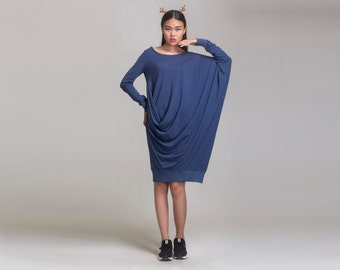 linen maxi dress,cotton maxi dress,knit  dress,long dress,looser dress