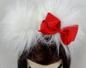 PREMADE Kitty ears headband cat ears hot pink red turquoise purple black halloween costume