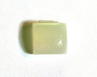 Moonstone White ~ Square Cabochon Natural White Gemstone Designer Cabochon Certified