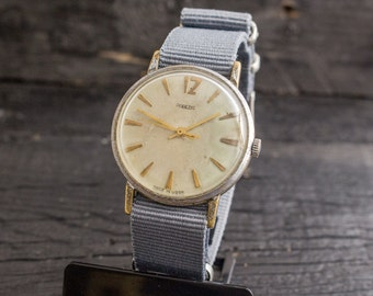 Vintage Pobeda watch, vintage mens watch, vintage soviet mechanical wrist watch, mens watch ussr cccp mens watch