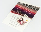 Boho Wedding Invitations - Bright and Colorful Sarape Destination/Bohemian Wedding Save the Date (Ana Suite)