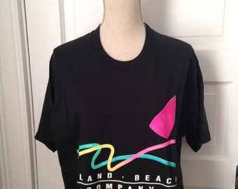 Vintage Prince Edward Island Neon T-shirt