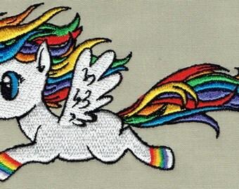 Rainbow Unicorn - Machine Embroidery Design