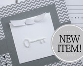 Internet Password Book | Web Password Notebook | Gray Chevron