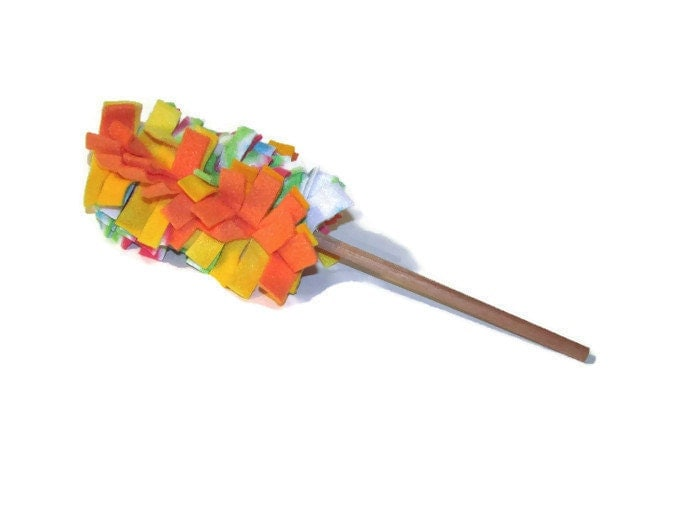 Cat toy fleece cat duster cat teaser cat wand toy for Cat wand toys