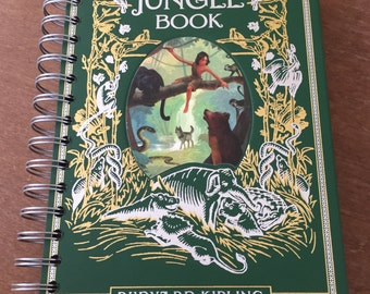 The Jungle Book // Leatherbound // Recycled Journal Notebook