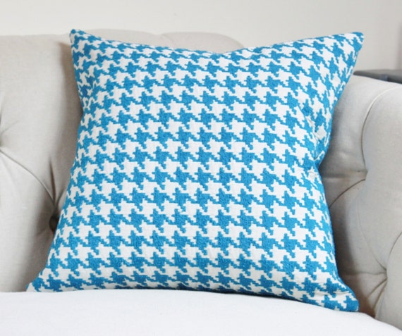Pool Blue Throw Pillows : SALE 25.00 18 or 20 Blue Pillow Cover Capri