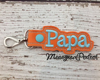 Papa Snap Buddie (Orange & Aqua)