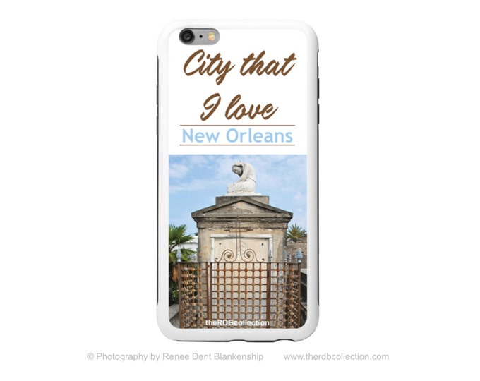 New Orleans Cemetery Tomb Phone Case