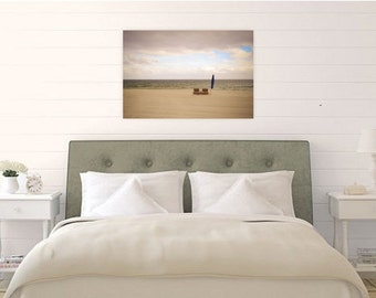 Ocean Serenity Always Photograph - Beach Chair - Nautical - Waves - Print - Wall Art