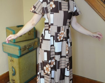60/70's Hukilau Fashions Dress
