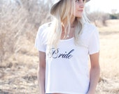 Bride shirt, Bride tee shirt, Bride Clothing, Wife Shirt, Mrs Shirt, Future Mrs Shirt, Bride tank tops, wedding day shirt, wedding shirt