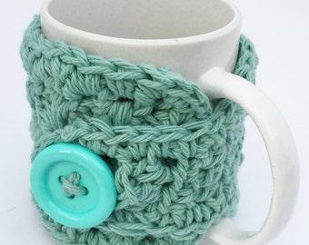 Crochet Cup Cozy, Mug Warmer, Cozy Sleeve, Coffee Lover Cozy,  Gift for Her, Handmade Cozie, Mug Hug
