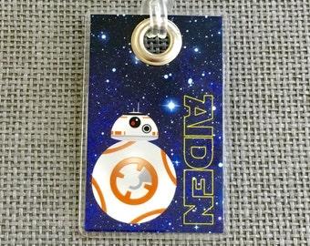 Star Wars Backpack Tag, Luggage Tag, Diaper Bag & More!