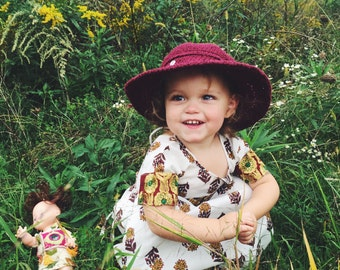 Baby Sun Hat | Wide brim hat for kids | Sun hats for kids | Baby Hats | photo props for kids |  Valentines Day for kids