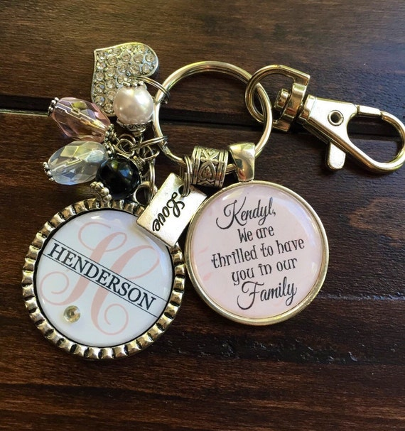 Future DAUGHTER in LAW GIFT, personalized bride to be We are thrilled ...