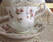 Vintage Winsome Royal Albert Bone China Footed Cup & Saucer England