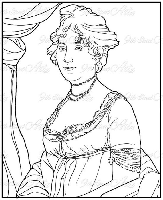 First Lady Coloring Pages