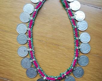 Siya Necklace vintage coin necklace