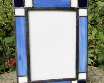 Stained Glass Frame for 5 x 7 Photo