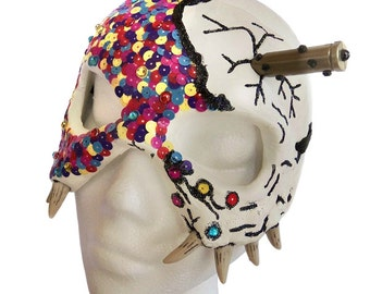 INFECTIOUS - Festival Skull Masquerade Mask