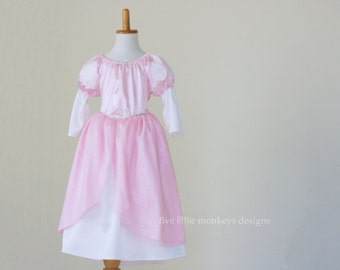 Ariel Dress - Ariel's Pink Dress - Pink Ballgown - Ariel ball gown - Ariel Costume - Pink Dress Costume - Ariel pink costume