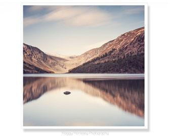 Irish Art, Glendalough Lake, Lake House Decor, Ireland Photography, Made In Ireland, Landscape Photography, Nature Art