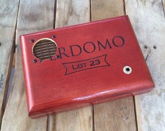 Cigar Box Portable Speaker, Perdomo Lot 23 *SALE*
