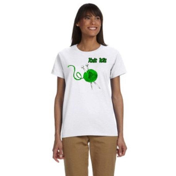 Knitters 39 Tee Shirt Top Bulk Order Business Wholesale