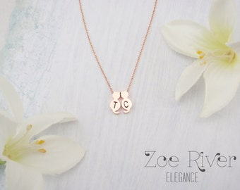 Choose silver, gold or rose gold cat necklace pendant, elegant and dainty necklace