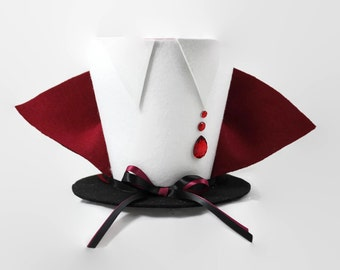 Halloween decoration, Vampire Halloween decoration, Vampire Costume top hat, Vampire decoration