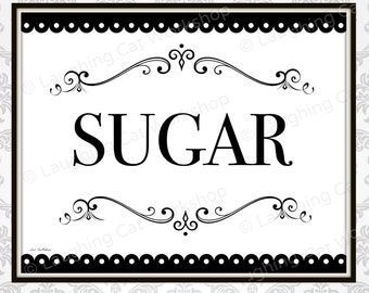 Wedding Dessert Table sign Sugar Candy Bar Wedding sign Sweet table decor Black and White Wedding Decor Country Victorian Wedding wall art