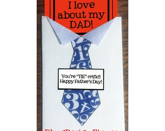 "Fun ""TIE""-rrific Happy Father's Day Printables - Instant Download"