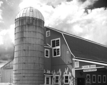 Cider Barn - Original Fine Art Photograph (farm, kitchen, urban farmhouse, farm animals, Autumn)