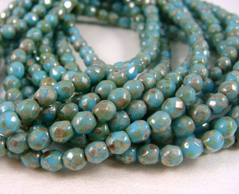 Czech Beads 3mm Czech Glass Fire Polished Beads Picasso. Korean Wedding Rings. High End Jewelry. Velvet Beads. Budget Diamond. God Pendant. Balls Beads. Beed Bracelet. Aquamarine Bracelet