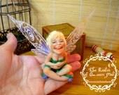 Classic Tales. Peter Pan. Fairy. Fantasy Art figure.