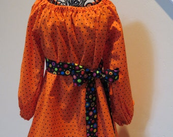 Halloween Girls Peasant Dress  On Sale