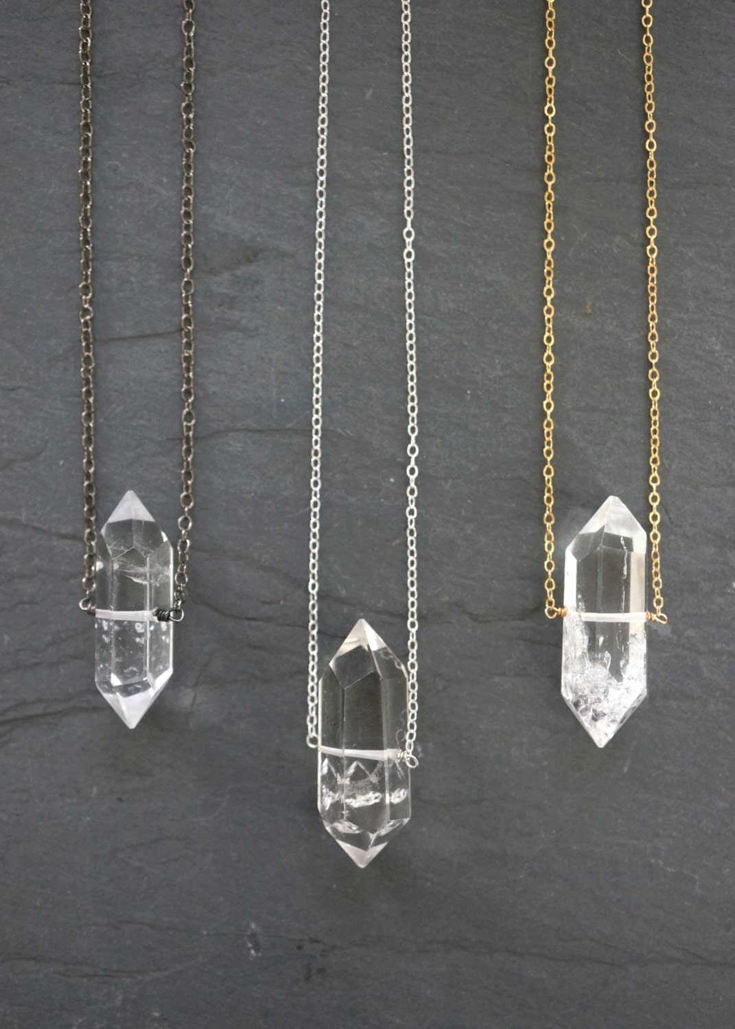 how to make jewelry with quartz crystals