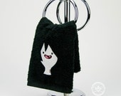"""Adventure Time """"Marceline Inspired - Embroidered Hand Towel"""