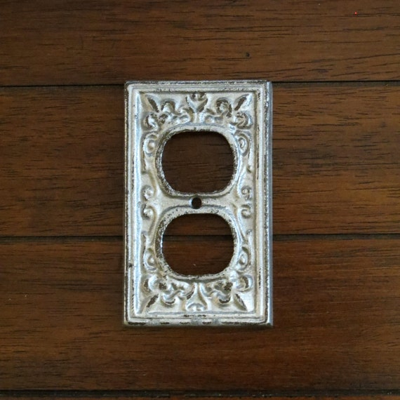 Decorative electrical outlet plate plug in socket cover - Decorative wall plates electrical ...