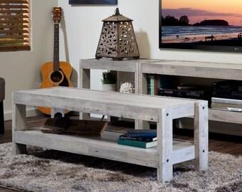 Beach House Coffee Table - Repurposed Wood - presEARTH Driftwood