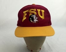 Vintage 1980s Florida State University Seminoles Snap-Back Baseball Cap // FSU // 80s // Hat // Retro // Throwback // NCAA // College