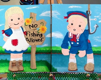 No Fishing Allowed Paintings by Me